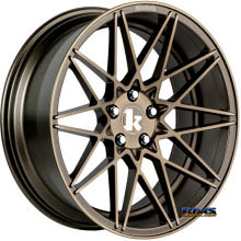 KLUTCH WHEELS - KM20 - Bronze Flat