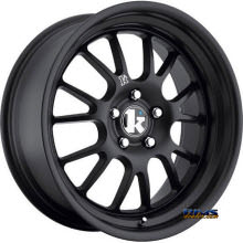 KLUTCH WHEELS - SL14 - Black Flat