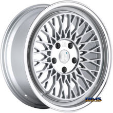 KLUTCH WHEELS - SL1 - Silver Flat