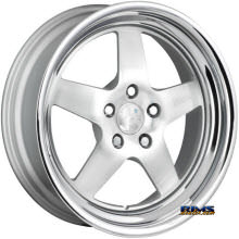 KLUTCH WHEELS - SL5 - Silver Gloss