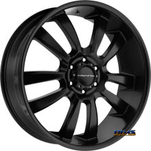 KMC - KM673 Skitch - SATIN BLACK