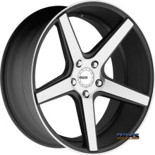 KMC - KM685 District - Satin Black