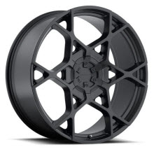 KMC - KM695 Crosshair - Satin Black