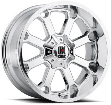 KMC XD Off-Road - XD825 Buck 25 - Chrome