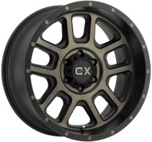 KMC XD Off-Road - XD828 - Dark Tinted - Black Flat