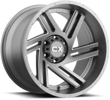 KMC XD Off-Road - XD835 - Satin Grey - Grey Solid