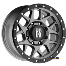 KMC XD Off-Road - XD127 - Black Flat