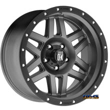 KMC XD Off-Road - XD128 - Black Flat