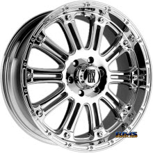 KMC XD Off-Road - XD795 Hoss - CHROME