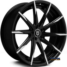 LEXANI - CSS-15 (Exposed Lugs) - black gloss