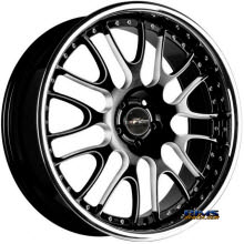 FK ETHOS WHEELS - LX-99 - black flat