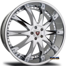 MERCELI WHEELS - M10 - chrome