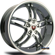 MERCELI WHEELS - M16 - chrome