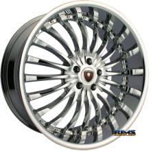 MERCELI WHEELS - M20 - chrome