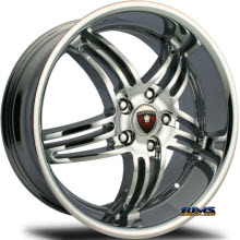 MERCELI WHEELS - M4 - chrome