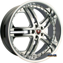 MERCELI WHEELS - M6 - chrome