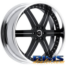 MHT Forged - LLC (6-LUG) - black gloss
