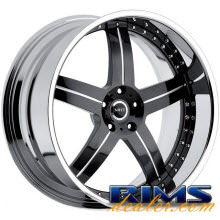 MHT Forged - LLC (5-LUG) - black gloss