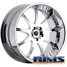 MHT Forged - M10 - chrome