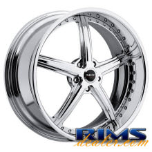 MHT Forged - STILLETO (5-LUG) - chrome