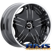 MHT Forged - LINEA - black gloss