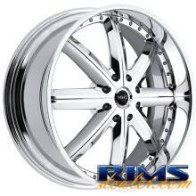 MHT Forged - MONTAGE (8-LUG) - chrome