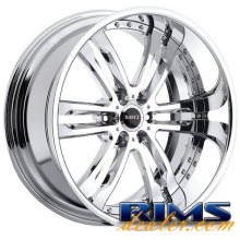 MHT Forged - PHASE (6-LUG) - chrome