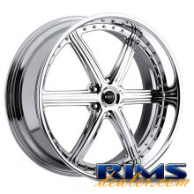 MHT Forged - STILLETO (6-LUG) - chrome