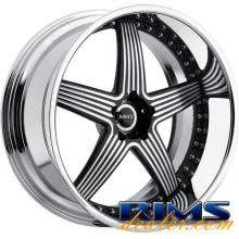 MHT Forged - TORRENT - machined w/ black