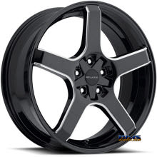 Vision Wheel - Milanni VK-1 464 (5 lugs only) - black gloss