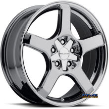 Vision Wheel - Milanni VK-1 464 - chrome