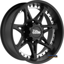 MOTO METAL - MO961 - SATIN BLACK