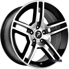 OE Performance Wheels - 101MB - Machined w/ Black