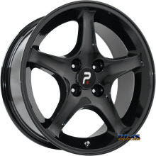 OE Performance Wheels - 102B - Black Gloss