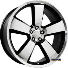 OE Performance Wheels - 119B - Machined w/ Black