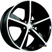 OE Performance Wheels - 123B - Machined w/ Black