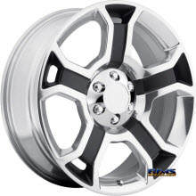 OE Performance Wheels - 127P - Machined w/ Black