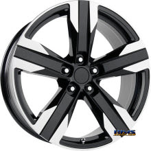 OE Performance Wheels - 135B - Machined w/ Black