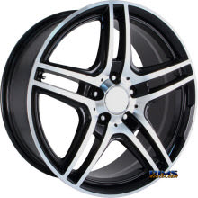 OE Performance Wheels - 136B - Machined w/ Black
