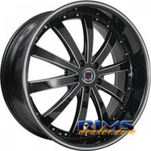 RSW77 - machined black w/stripe