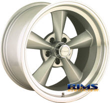 Ridler wheels - 675 - machined w/ silver