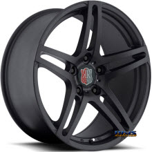 Roderick Luxury Wheels - RW5 - black flat