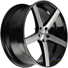 ROVOS WHEELS - DURBAN - machined w/ black