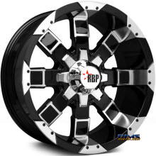 RBP Off-road - 95-R - Machined w/ Black