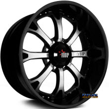 RBP Off-road - 96-R Exposed 8 Lug Only - Machined w/ Black