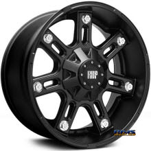 RBP Off-road - 97-R - Black Flat