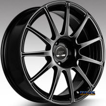 FK ETHOS WHEELS - RT-11C - black flat