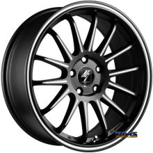 FK ETHOS WHEELS - RT-87 M7 - black flat