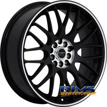 Ruff Racing - R355 - black w/ stripe