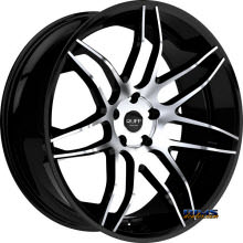 RUFF RACING - R960 - Black Gloss w/ Machined